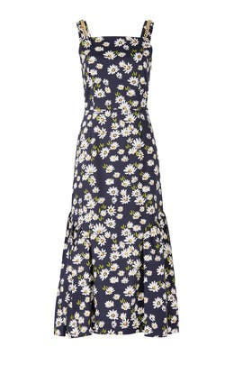 Daisy Midi Dress by Mother of Pearl