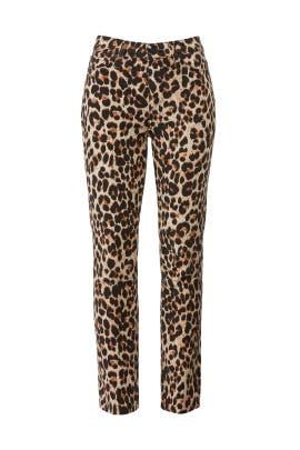 Sahara Leopard Hoxton Jeans by PAIGE
