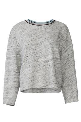 Taffy Stripe Active Sweatshirt by Splendid