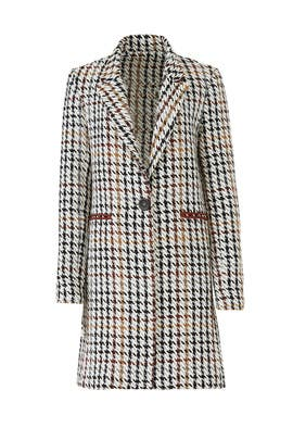 Houndstooth Nola Coat by Waverly Grey