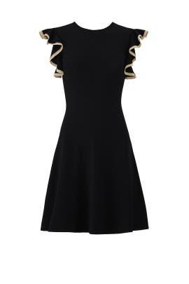 Black Saya Knit Dress by Shoshanna