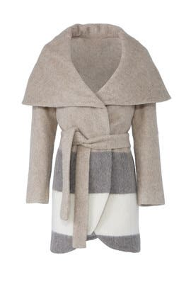 Stripe Sammy Coat by Waverly Grey