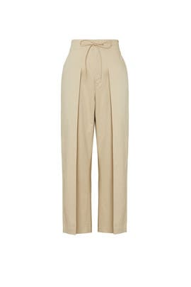 Gabardine Cropped Pants by Y-3
