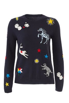 Le Cirque Sweater by Chinti & Parker
