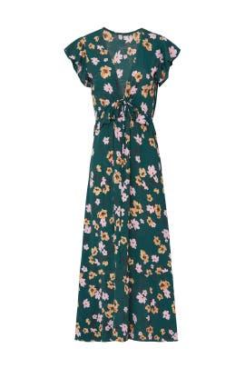 Short Sleeve Ophilia Midi Dress by Flynn Skye
