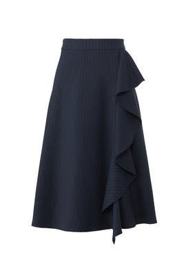 Pinstripe Lily Skirt by Just Female