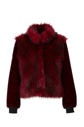 Gisela Faux Fur Coat by Sosken