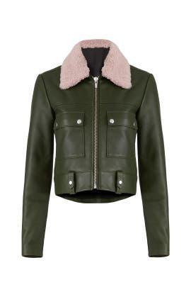 Green Freeman Jacket by VEDA