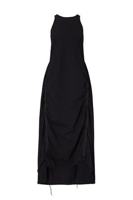 Black Ruched Dress by Y-3
