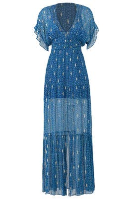 Blue Mela Maxi by ba&sh