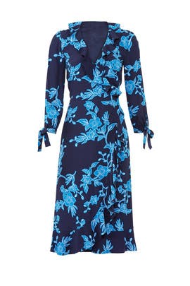 Geranium Floral Wrap Dress by Draper James