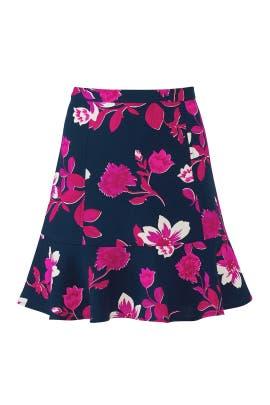 Darlington Floral Flutter Skirt by Draper James