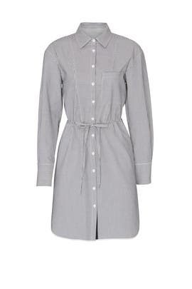 Stripe Seersucker Shirtdress by Jason Wu