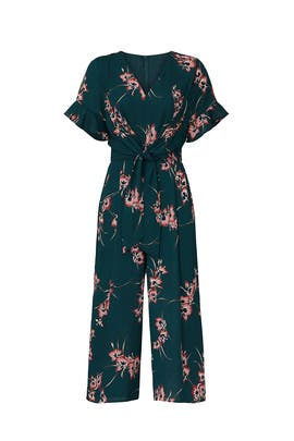 Green Floral Jumpsuit by Louna
