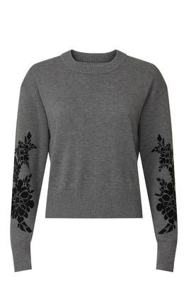 Embellished Crop Sweater by Marissa Webb Collective