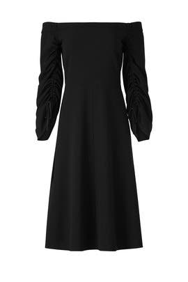 Structured Sleeve Dress by Tibi
