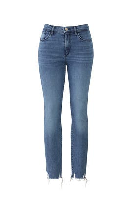 Mid Rise Skinny Crop Jeans by 3x1