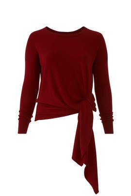 Arenal Front Tie Sweater by Universal Standard