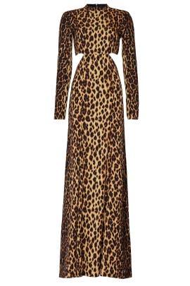 Leopard Gabriela Gown by A.L.C.