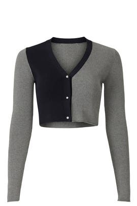 Pearl Colorblock Cardigan by Peter Som Collective