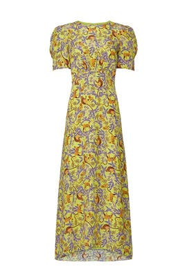 Yellow Bianca Dress by SALONI