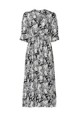 Printed Midi Dress by See by Chloe