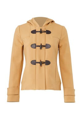 Tan Toggle Coat by Shoshanna