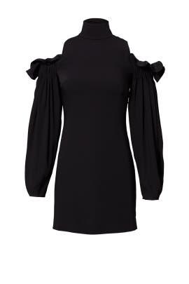 Black Azha Dress by AQ/AQ
