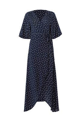 Navy Orna Wrap Maxi by B Collection by Bobeau