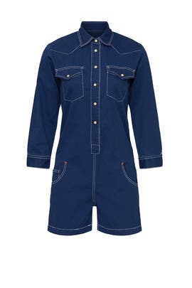 Cowboy Denim Romper by denimist