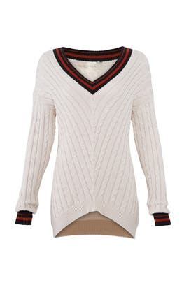 Cable Knit Golibe Sweater by Joie