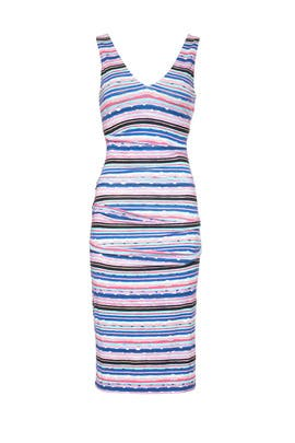 b547de04 Jungle Stripe Wren Dress by Nicole Miller