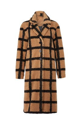 Berber Plaid Coat by NVLT