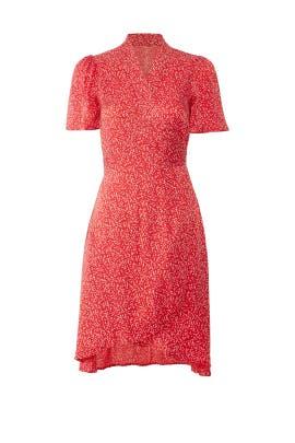 Dots Shiny Wrap Dress by byTiMo