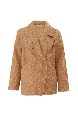 Faux Shearling World Tour Coat by C/MEO COLLECTIVE