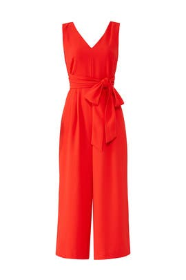 Wrap Tie Jumpsuit by J.Crew
