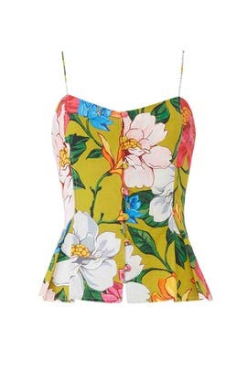 Floral Lily Top by Mara Hoffman