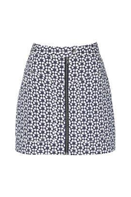Navy Marigold Skirt by Rebecca Minkoff