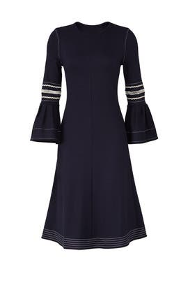 Abyss Blue Jersey Dress by See by Chloe