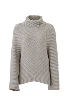 Grey Dolman Sweater by Slate & Willow