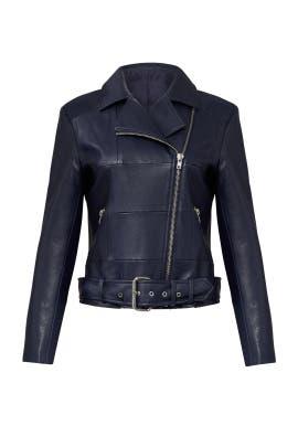 Navy Maria Jacket by BB Dakota