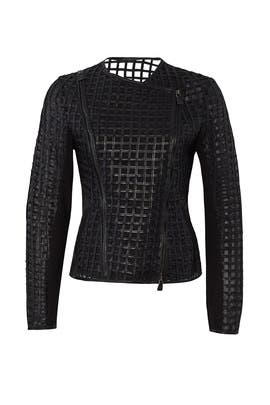 Cutout Leather Jacket by Bagatelle