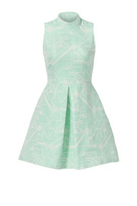 Mint Giselle Dress by Hunter Bell