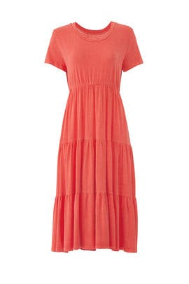 Peasant Midi Dress by Sundry