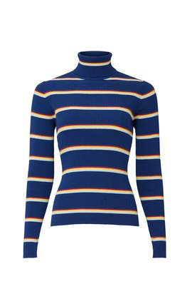 Striped Turtleneck by WRANGLER