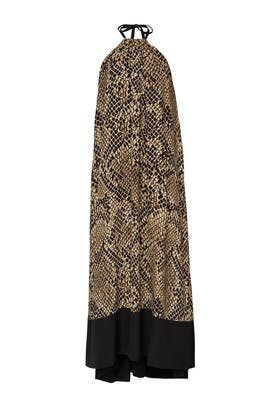 Snake Print Maxi by Christian Pellizzari