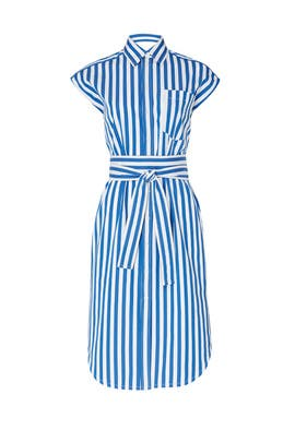 Wrap Button Down Dress by DEREK LAM