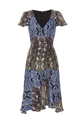 Snake Print Delia Dress by Parker