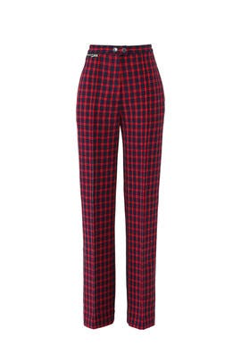 Plaid Tailored Pants by 3.1 Phillip Lim