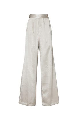 Satin Iris Pants by Ramy Brook